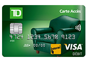 Image of a TD Canada Trust Access Card