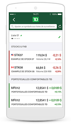 The TD app can help you better manage your money