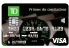 Carte Visa TD Primes du conducteur