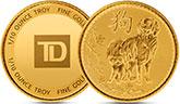 加拿大150年排灯节银圆