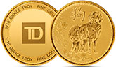 Canada150排燈節銀幣