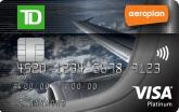 TD® Aeroplan® Visa*白金卡