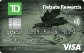 TD Rebate Rewards <em>Visa</em>* Card