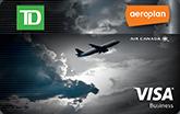 TD® Aeroplan® Visa商務卡*