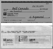 Draft Cheque Image