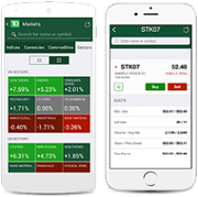 Make trades and view real-time quotes with your Smartphone