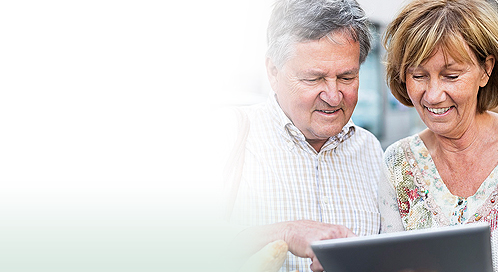 Do senior citizens use online banking services?
