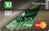TD Cash Back MasterCard Credit Card