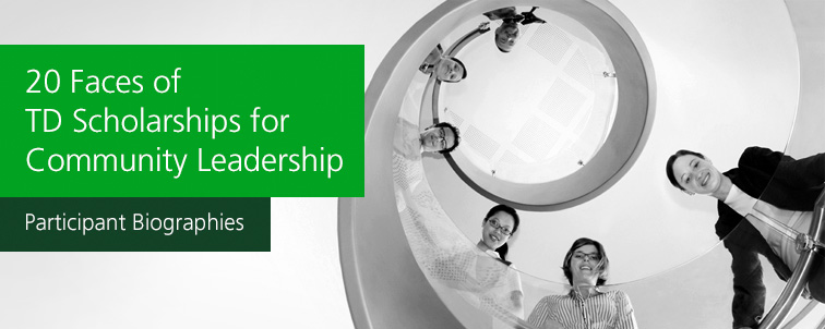 td scholarship for community leadership essay Td scholarship for community leadership award value – up to $10,000 for tuition per year (for up to a maximum of four years) $7,500 a year for living expenses (for.
