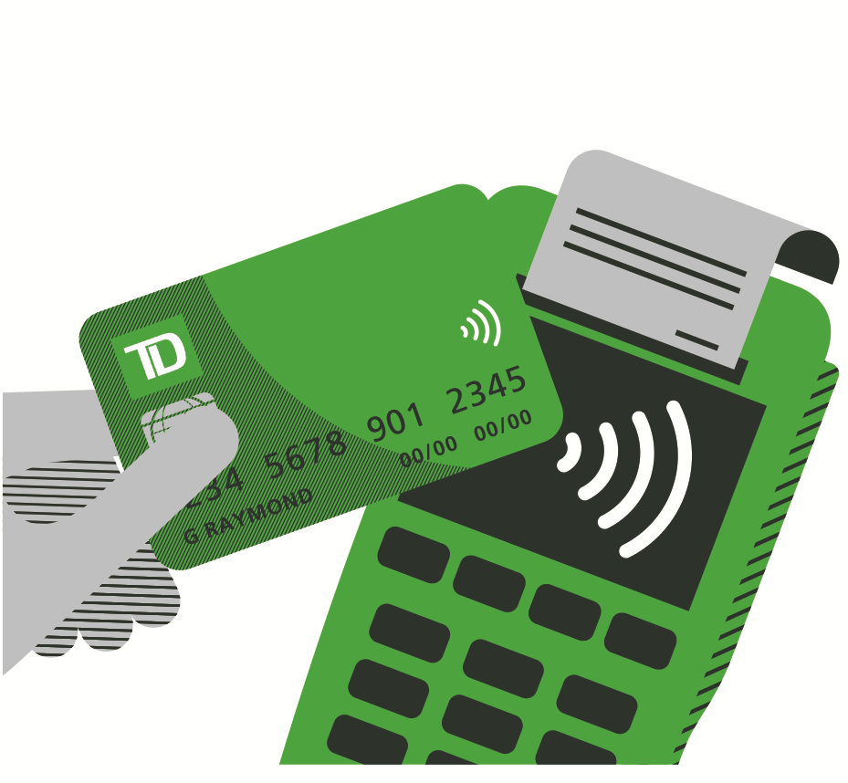 Get Td Access Card With Fraud Alert Td Canada Trust