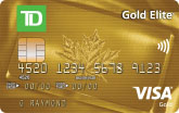 TD Gold Elite Visa Card