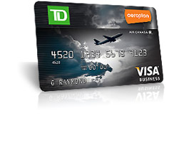 Aeroplan business credit card gallery business card template business credit card aeroplan choice image card design and card td aeroplan visa business card review colourmoves