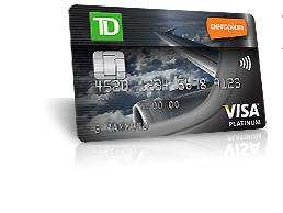 Aeroplan visa cards