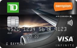 道明Aeroplan Visa无限卡