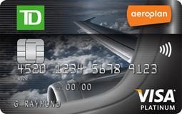 道明Aeroplan Visa白金卡