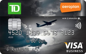 Td aeroplan visa business card td canada trust apply for a td credit card reheart Gallery