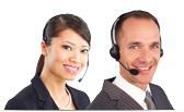 微笑的道明客戶服務代表