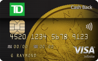 道明現金回贈Visa無限卡?