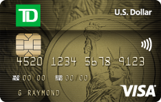 Apply for TD U.S. Dollar Visa Card