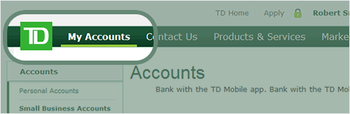 Td webbroker options