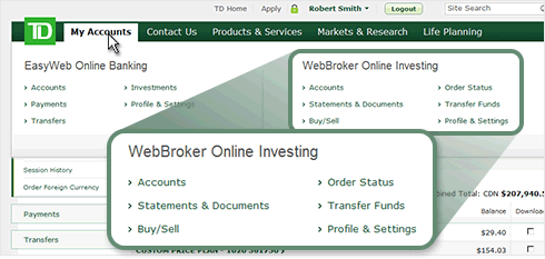 td webbroker how to create a new account