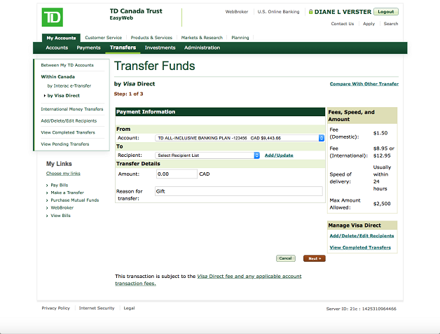 Outstanding Wire Transfer From Chase To Td Bank Wire Transfer From Chase To Td Wiring Cloud Toolfoxcilixyz
