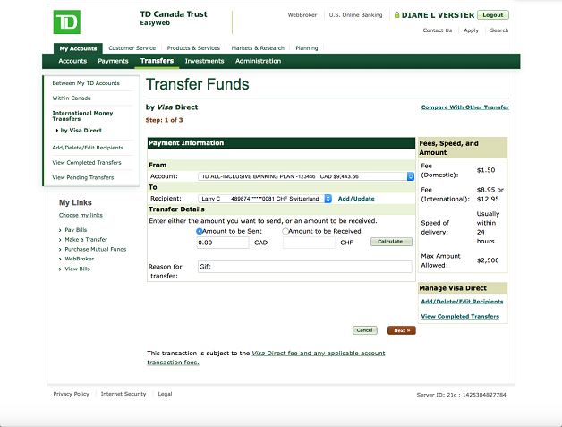 Td bank options trading