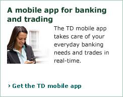Td canada trust option trading