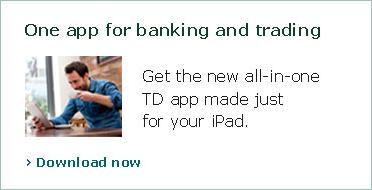 tdonline banking