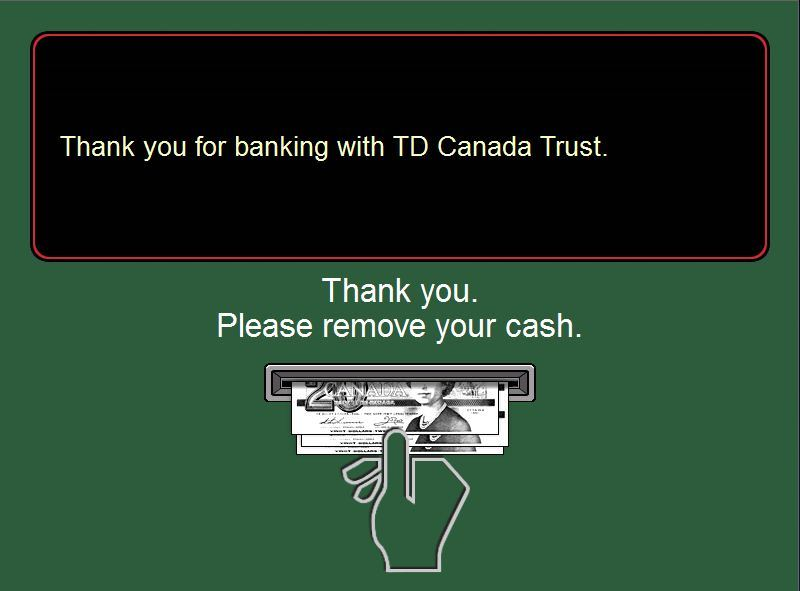 TD Canada Trust | Green Machine ATM