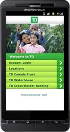 TD mobile app for Android