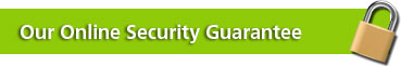 Our Online Security Guarantee