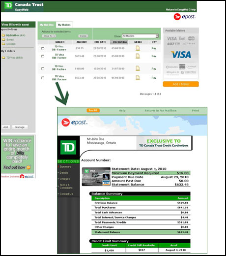 Check my bill online electronic banking explore easyweb pay bills