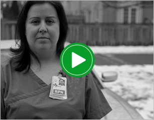 Karyn turns her job loss into an opportunity to become a nurse