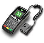 Easy to use countertop POS device that accepts payments quickly and securely.