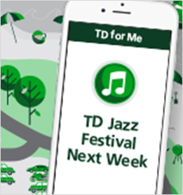 TD Jazz Festival Next Week