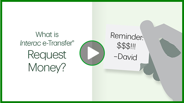 What is Interac e-Transfer Request Money?