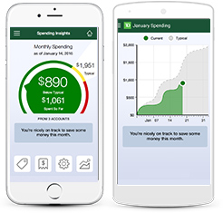 Instantly know where your money is going with the TD MySpend app
