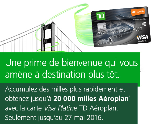 Promotion Carte De Credit Aeroplan