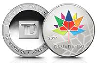 加拿大150盎司银圆