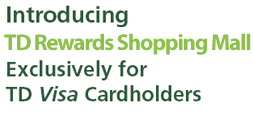 Td Visa Rewards >> Td Canada Trust Credit Cards Shop My Axs