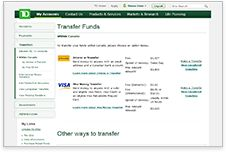 how to get online statement td bank canada